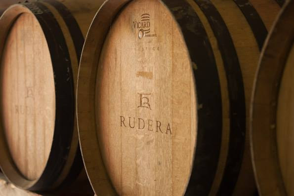 Rudera wines are made aged in oak wine barrels