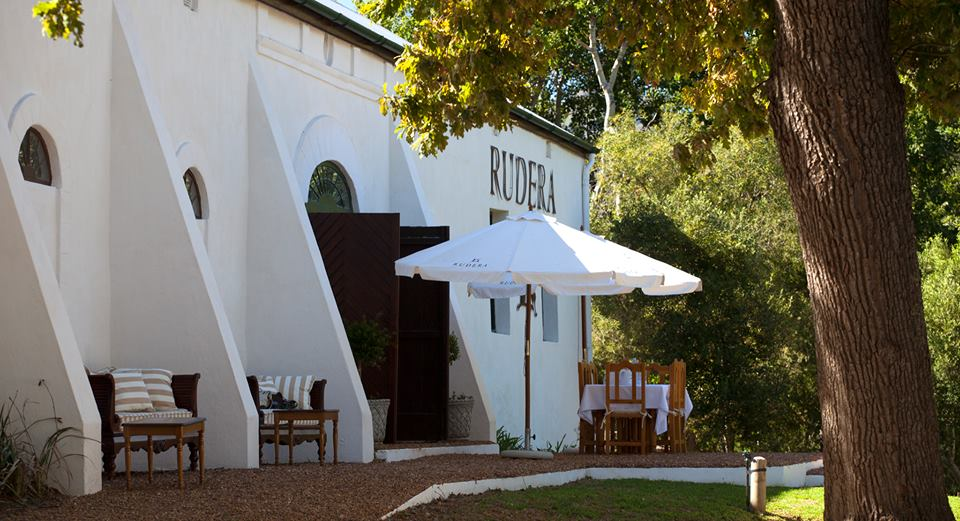 Rudera Wines historic winemaking facility - Jonkershoek valley