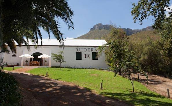Rudera now situated in Jonkershoek valley
