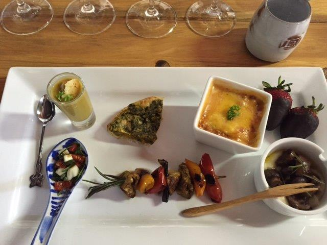 Wine Tasting at Rudera Wines - Jonkershoek Valley Stellenbosch - Vegetarian food and wine pairing