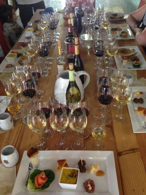 food and wine pairing at Rudera wines